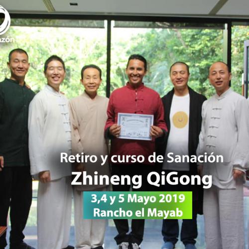 AGOTADO!! Retiro Curso de Sanación de Zhineng QiGong 3 al 5 de Mayo 2019