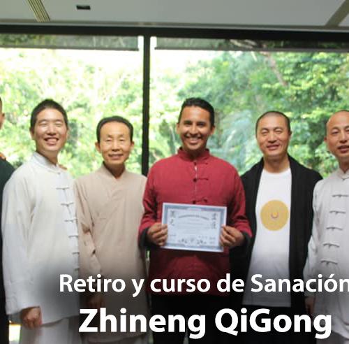 Retiro Curso de Sanación de Zhineng QiGong 20 al 22 de Septiembre 2019 Jalisco