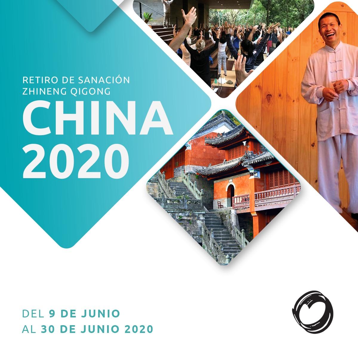 Retiro de Sanación en China Junio 2020