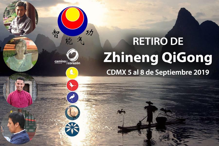 Retiro de Zhineng QiGong 5 al 8 de Septiembre 2019 CDMX