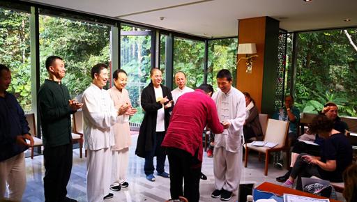 Oscar SIlva Badillo-Zhineng QiGong-Camino con Corazón-Chikung México-Dr. Pang He Ming- Huaxia Center 2