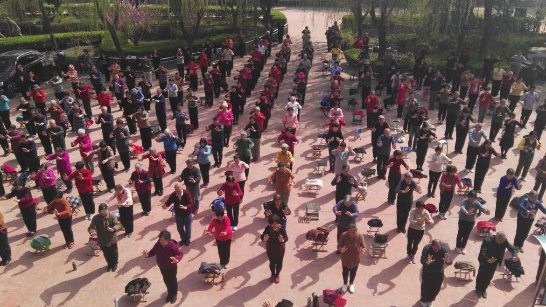 Xian Center, China. (español) Centro de investigación de Zhineng QiGong