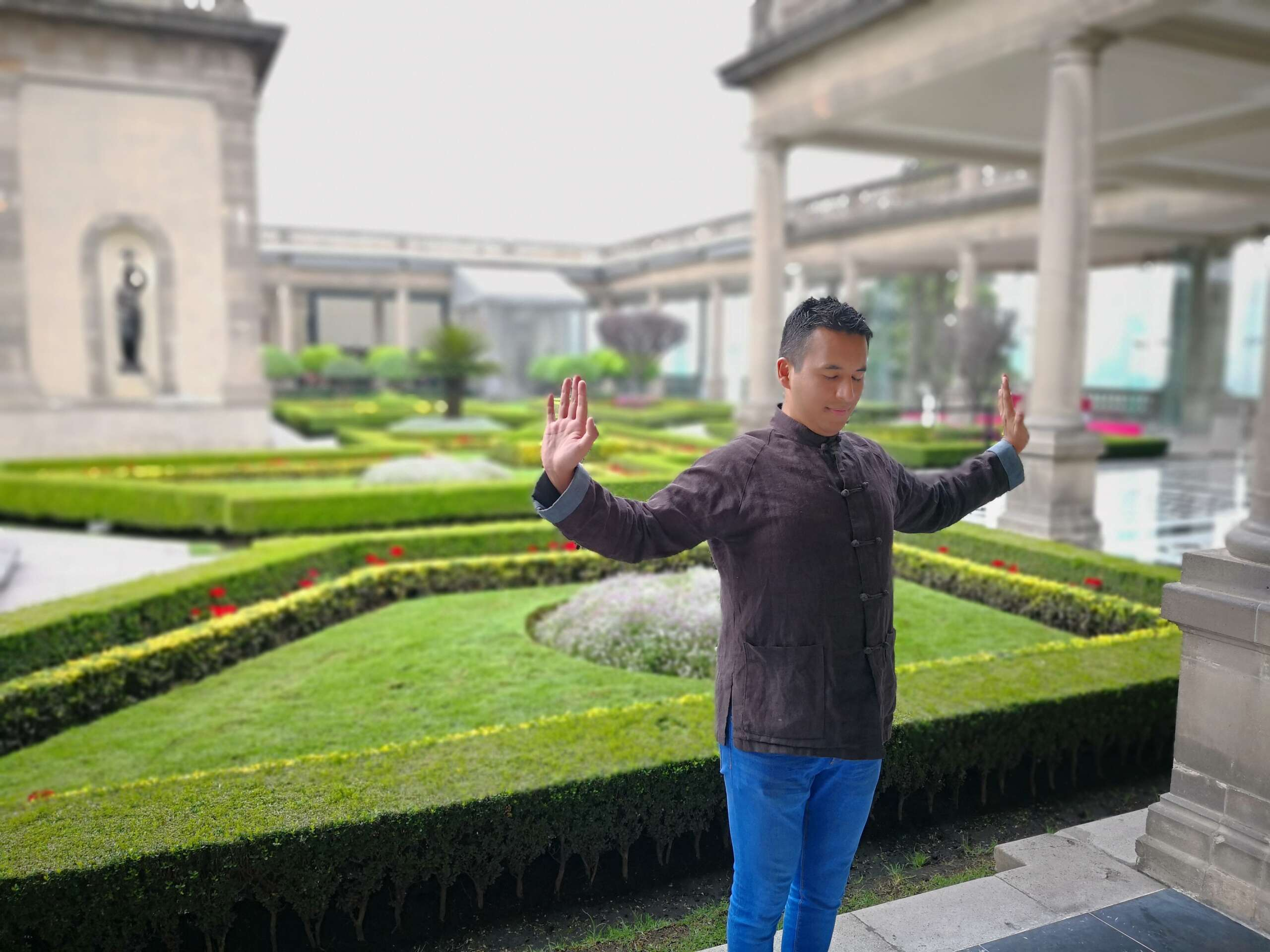 Ejercicios de Zhineng QiGong.